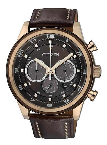 P�nske hodinky Citizen ECO-DRIVE RING CHRONO