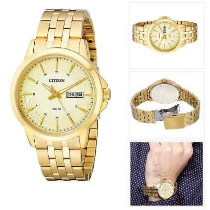 ... Pánske hodinky CITIZEN Zlaté b538570b5e