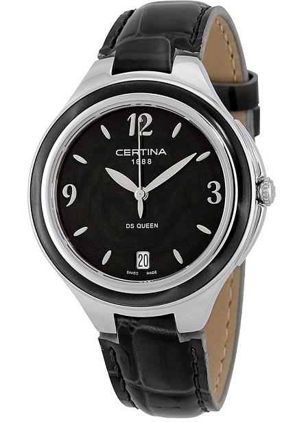 D�mske hodinky DS QUEEN BLACK