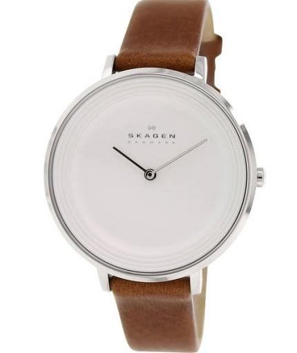 D�mske hodinky SKAGEN Brown