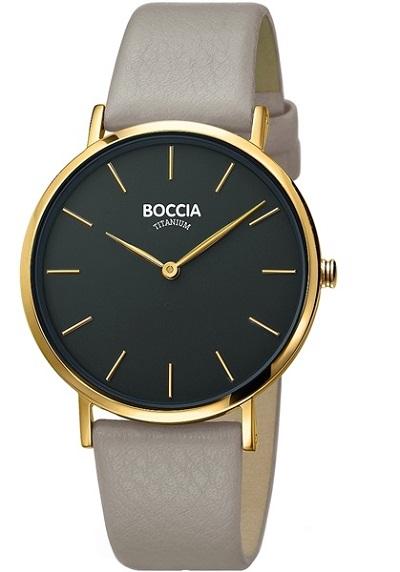 Boccia Titanium d�mske hodinky beige