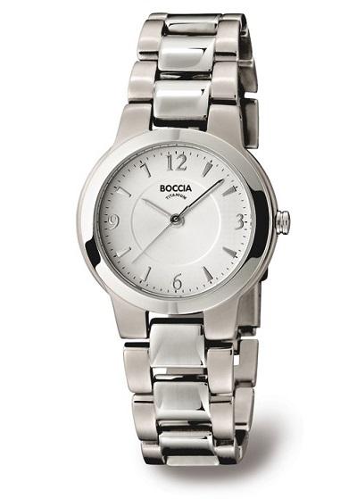 Boccia Titanium d�mske hodinky silver