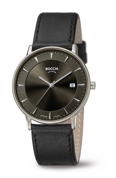 Boccia Titanium p�nske hodinky black