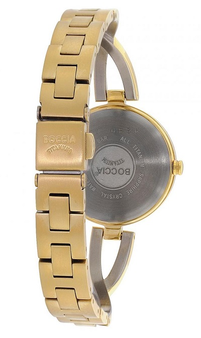 Boccia Titanium dámske hodinky gold silver ... 02375da6689