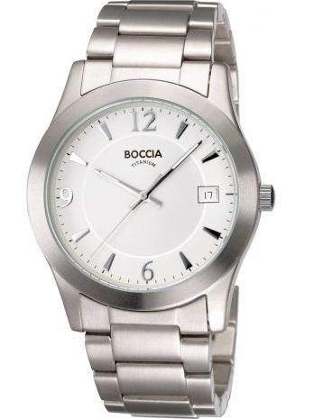 P�nske hodinky BOCCIA TITANIUM silver
