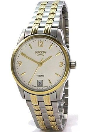 Boccia Titanium dбmske hodinky gold/silver