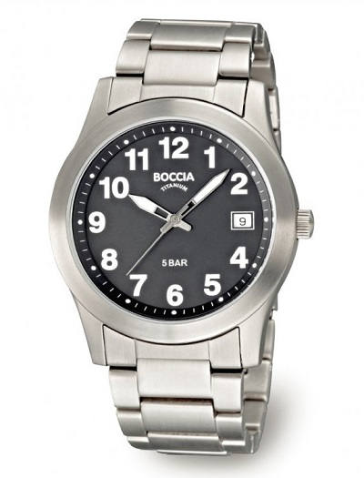 P�nske hodinky BOCCIA TITANIUM