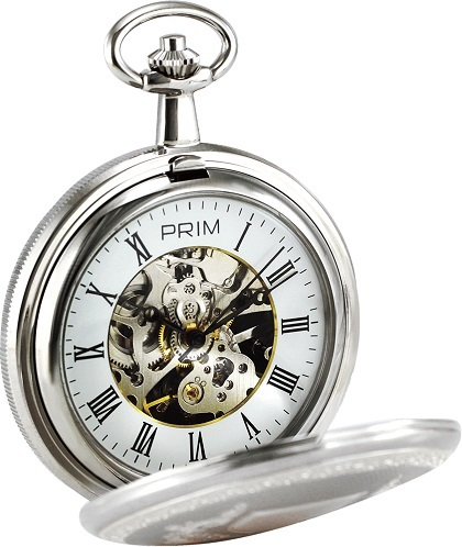 Vreckov� mechanick� hodiny PRIM