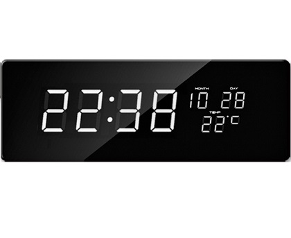 Digitбlnй hodiny JVD biele инsla DH2.3