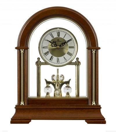 Stolov� hodiny DOGENI s rota�n�m kyvadlom