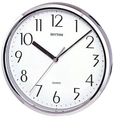N�stenn� hodiny RHYTHM Strieborn�