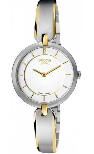 Titбnovй dбmske hodinky BOCCIA