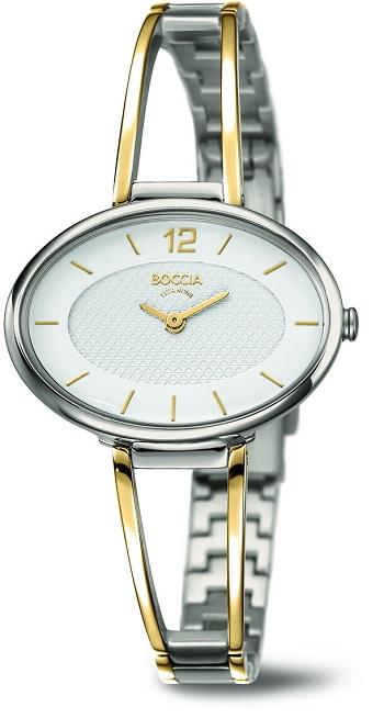 Dбmske bicolor titбnovй hodinky